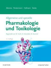 Allgemeine und spezielle Pharmakologie und Toxikologie, Buch