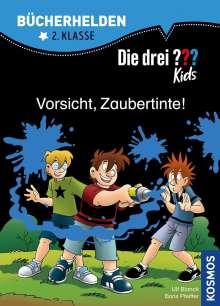Ulf Blanck: Die drei ??? Kids, Bücherhelden, Vorsicht, Zaubertinte! (drei Fragezeichen), Buch