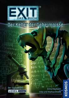 Inka Brand: EXIT - Das Buch: Der Keller der Geheimnisse, Buch