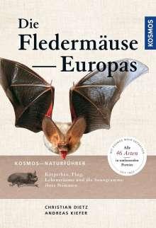 Christian Dietz: Naturführer Fledermäuse Europas, Buch