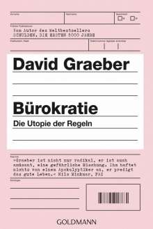 David Graeber: Bürokratie, Buch