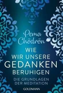 Pema Chödrön: Wie wir unsere Gedanken beruhigen, Buch