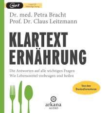Petra Bracht: Klartext Ernährung, MP3-CD