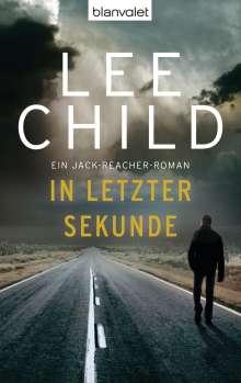 Lee Child: In letzter Sekunde, Buch