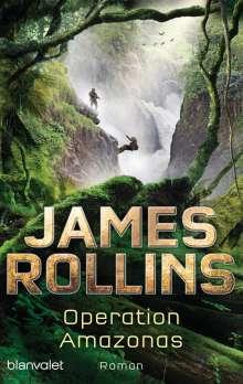 James Rollins: Operation Amazonas, Buch