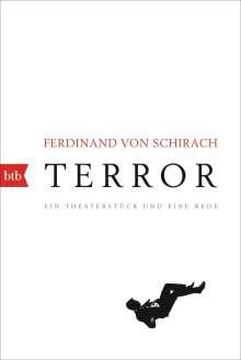 Ferdinand von Schirach: Terror, Buch