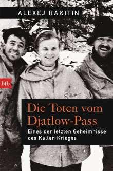 Alexej Rakitin: Die Toten vom Djatlow-Pass, Buch