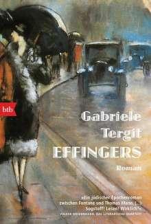Gabriele Tergit: Effingers, Buch