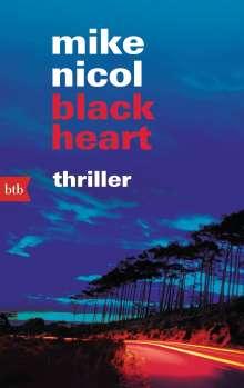 Mike Nicol: black heart, Buch