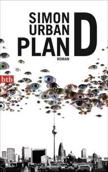 Simon Urban: Plan D, Buch