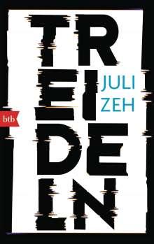Juli Zeh: Treideln, Buch
