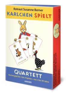 Rotraut Susanne Berner: Karlchen spielt - Quartett, Diverse