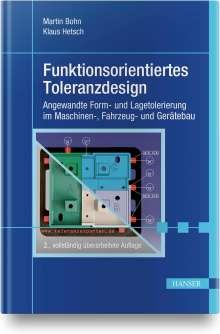 Martin Bohn: Funktionsorientiertes Toleranzdesign, Buch