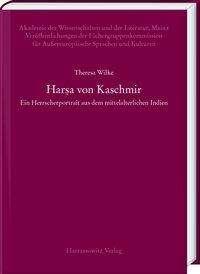 Theresa Wilke: Har¿a von Kaschmir, Buch