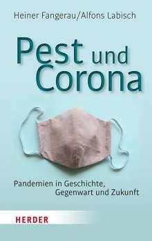 Heiner Fangerau: Pest und Corona, Buch