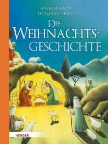 Anselm Grün: Die Weihnachtsgeschichte, Buch