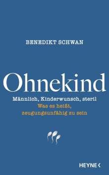 Benedikt Schwan: Ohnekind, Buch
