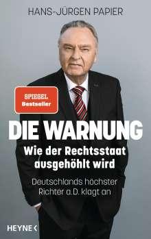Hans-Jürgen Papier: Die Warnung, Buch