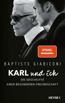 Baptiste Giabiconi: Karl und ich, Buch