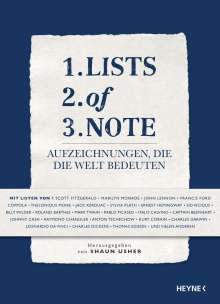 Lists of Note, Buch