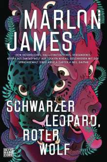 Marlon James (geb. 1970): Schwarzer Leopard, roter Wolf, Buch