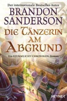 Brandon Sanderson: Die Tänzerin am Abgrund, Buch
