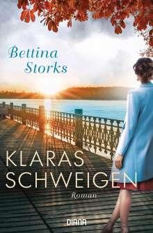 Bettina Storks: Klaras Schweigen, Buch