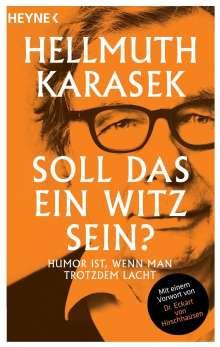 Hellmuth Karasek: Soll das ein Witz sein?, Buch