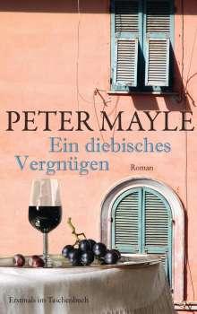 Peter Mayle: Ein diebisches Vergnügen, Buch