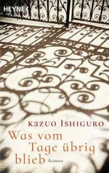 Kazuo Ishiguro: Was vom Tage übrig blieb, Buch