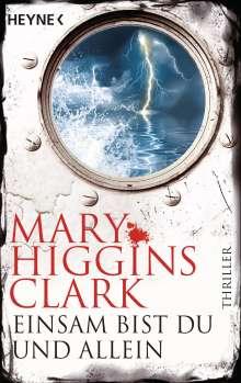 Mary Higgins Clark: Einsam bist du und allein, Buch