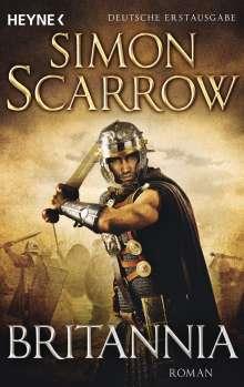 Simon Scarrow: Britannia, Buch
