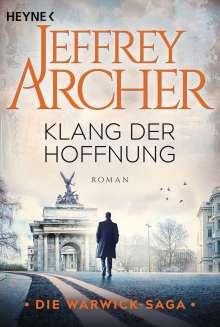 Jeffrey Archer: Klang der Hoffnung, Buch