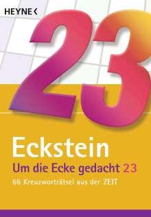 Eckstein: Um die Ecke gedacht 23, Buch