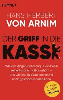Hans Herbert von Arnim: Der Griff in die Kasse, Buch