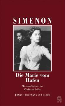 Georges Simenon: Die Marie vom Hafen, Buch