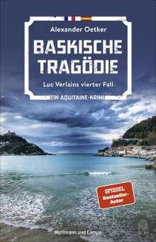 Alexander Oetker: Baskische Tragödie, Buch