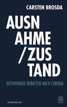 Carsten Brosda: Ausnahme / Zustand, Buch