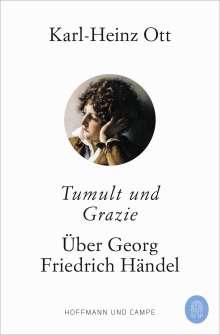 Karl-Heinz Ott: Tumult und Grazie, Buch