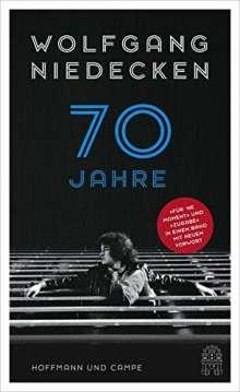 Wolfgang Niedecken: 70 Jahre, Buch