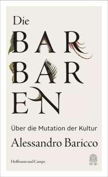 Alessandro Baricco: Die Barbaren, Buch