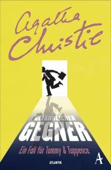 Agatha Christie: Ein gefährlicher Gegner, Buch