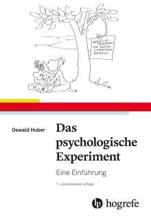 Oswald Huber: Das psychologische Experiment, Buch