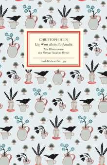 Christoph Hein: Ein Wort allein für Amalia, Buch