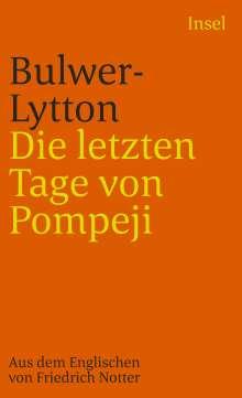 Edward George Bulwer-Lytton: Die letzten Tage von Pompeji, Buch