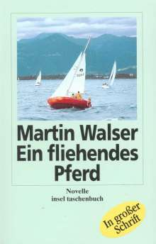 Martin Walser: Ein fliehendes Pferd. Großdruck, Buch