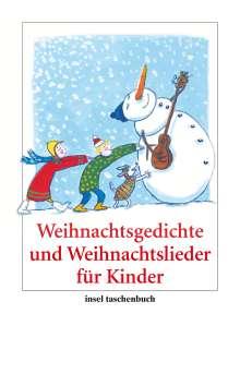 Weihnachtsgedichte und Weihnachtslieder für Kinder, Buch