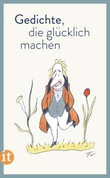 Gedichte, die glücklich machen, Buch