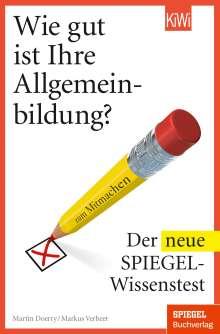 Martin Doerry: Wie gut ist Ihre Allgemeinbildung?, Buch