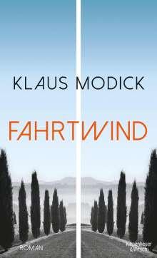 Klaus Modick: Fahrtwind, Buch